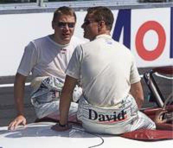 Häkkinen und Coulthard
