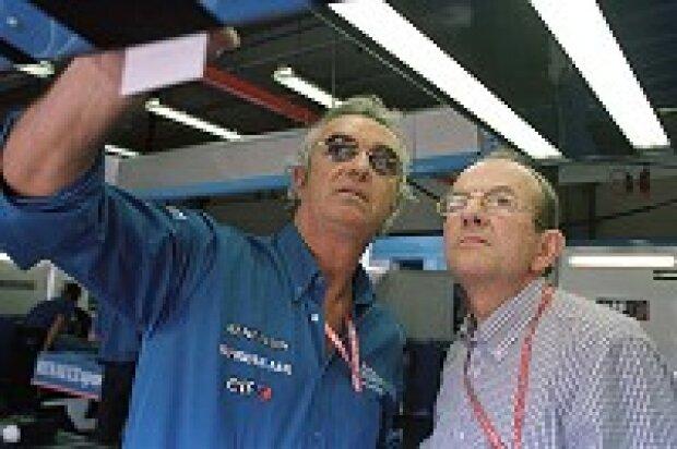 Flavio Briatore und Christian Contzen