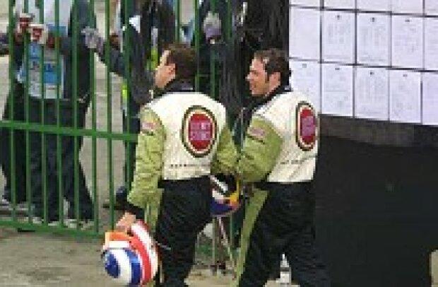 Olivier Panis und Jacques Villeneuve