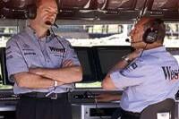 Adrian Newey und Ron Dennis
