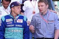 Kimi Räikkönen und Mika Häkkinen