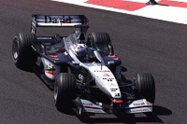 David Coulthard im MP4-16