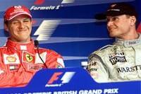 Schumacher und Coulthard