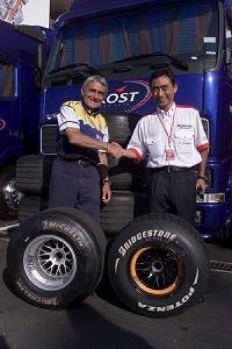 Michelin und Bridgestone in der Formel 1