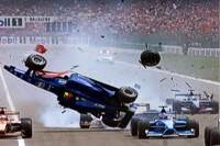 Der Unfall in der ersten Runde