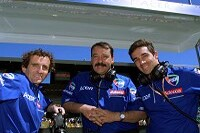 Die Führungsspitze des Teams Prost Grand Prix