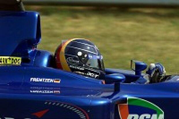Heinz-Harald Frentzen im Prost AP04 unterwegs