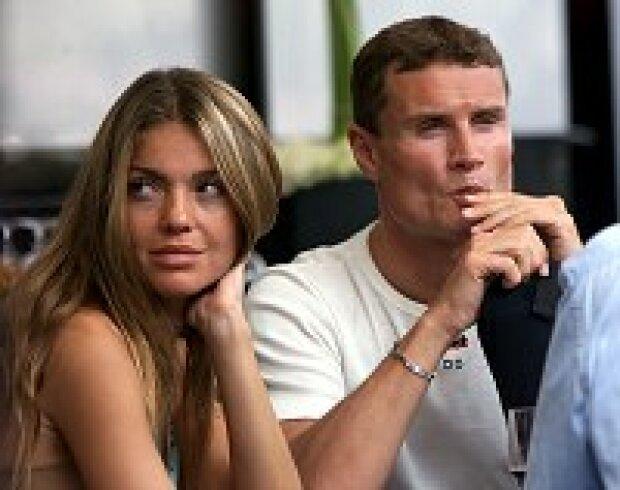 David Coulthard mit seiner Freundin