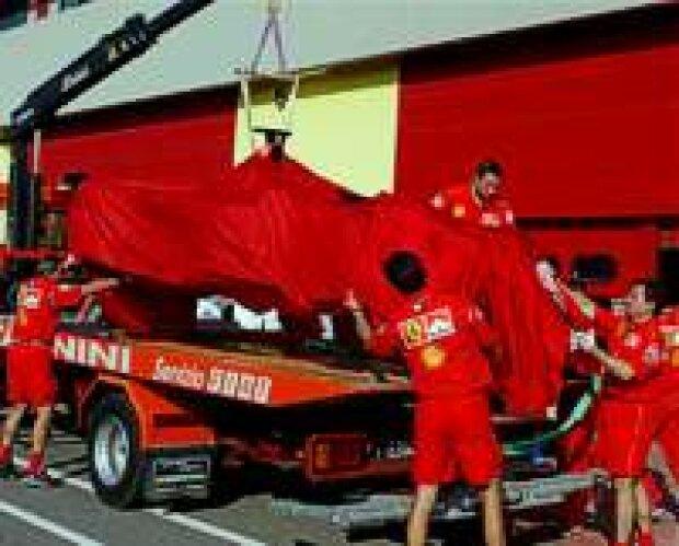 Michael Schumachers Ferrari