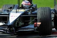 Alex Yoong im Minardi bei den Testfahrten in Monza
