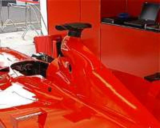 Ferrari ohne Logos