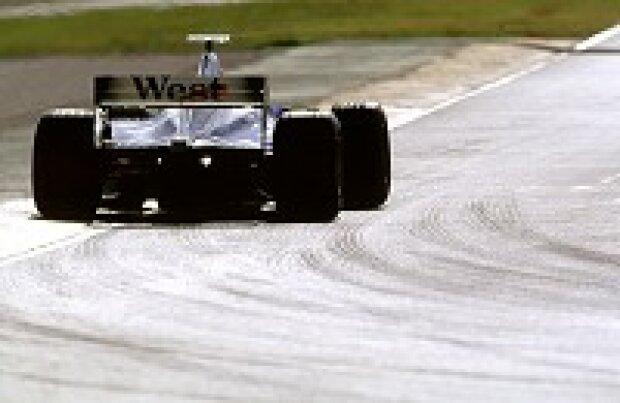 Ein McLaren-Pilot beim Test