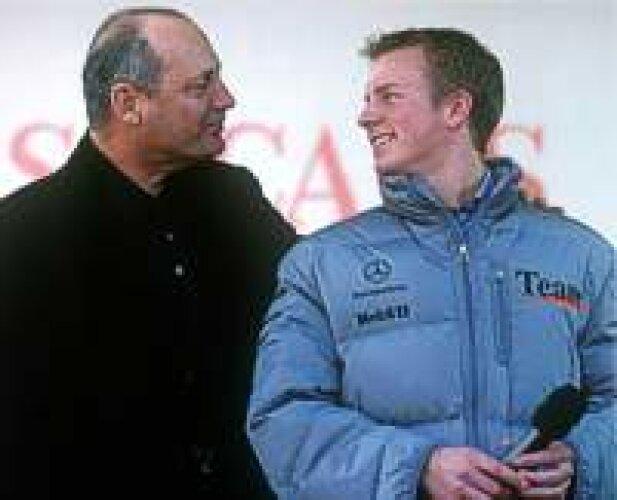 Ron Dennis und Kimi Räikkönen
