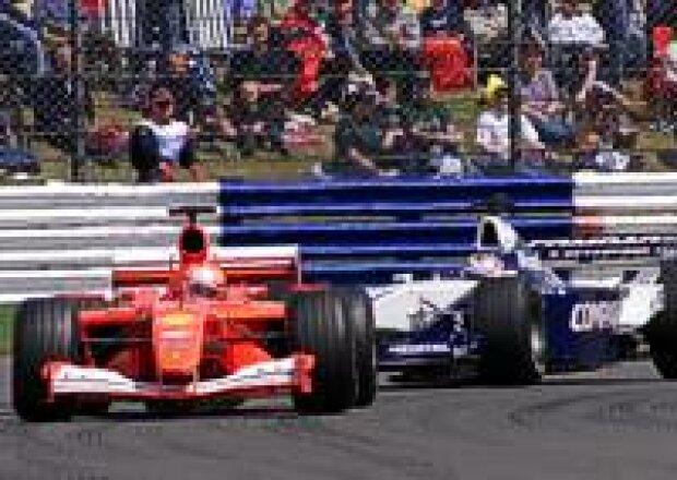 Schumacher vor Montoya