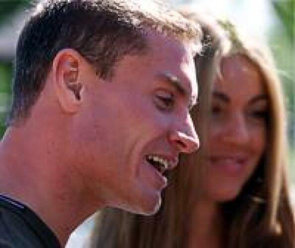 David Coulthard mit Freundin