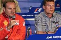 Rubens Barrichello, David Coulthard