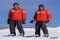 Burti und Barrichello