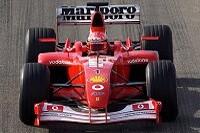Michael Schumacher im F2002