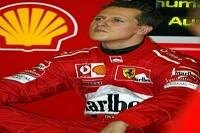 Michael Schumacher in der Ferrari-Box