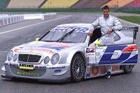 Jean Alesi mit dem AMG-Mercedes CLK