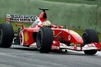 Luca Badoer im F2002