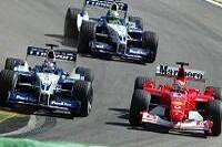 Montoya, Ralf und Michael Schumacher