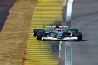 Eddie Irvine im Jaguar R3
