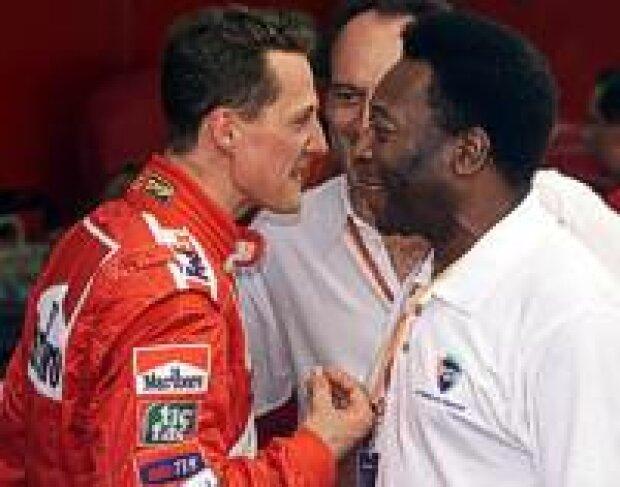 Schumacher und Pele