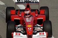 Rubens Barrichello im F2002
