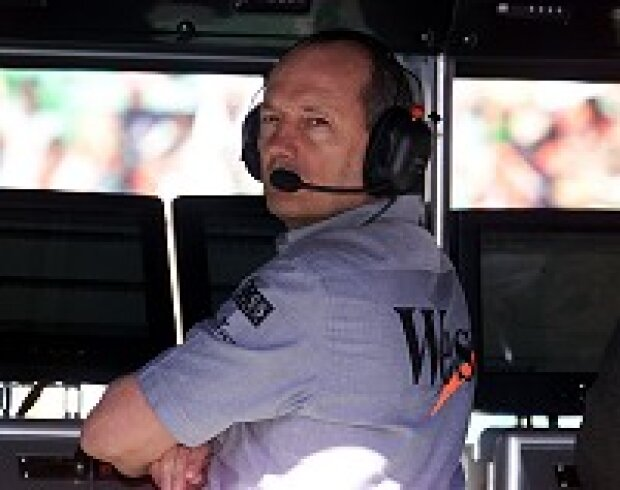 Ron Dennis Teamchef von McLaren-Mercedes