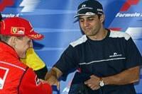 Schumacher und Montoya