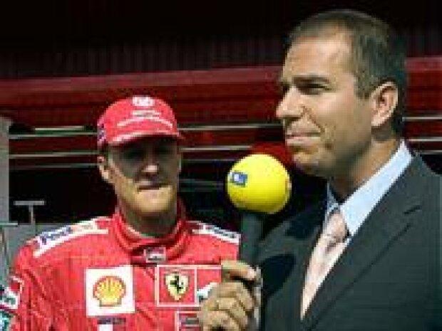 Michael Schumacher und Kai Ebel