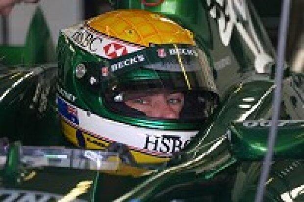 James Courtney beim Test für Jaguar Racing
