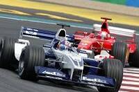 Juan-Pablo Montoya, Michael Schumacher