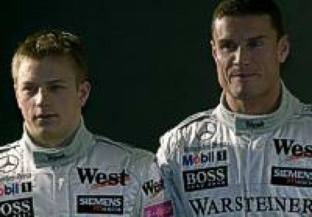 Räikkönen und Coulthard