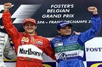 Schumacher und Fisichella