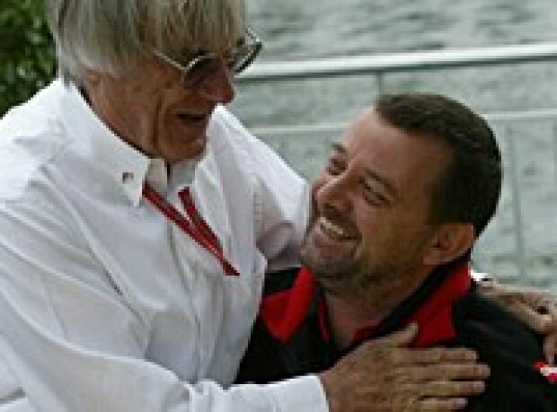 Ecclestone und Stoddart