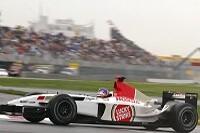 Jacques Villeneuve im BAR004
