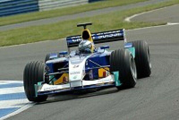 Nick Heidfeld im Sauber C22