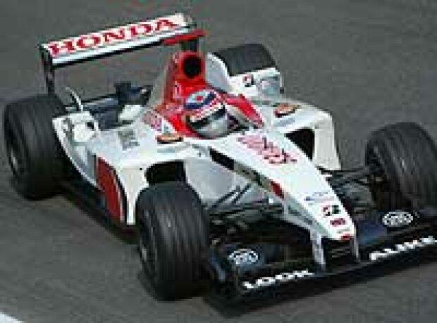Takuma Sato (BAR-Honda)