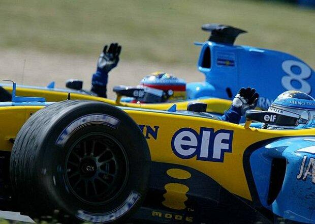 Alonso und Trulli