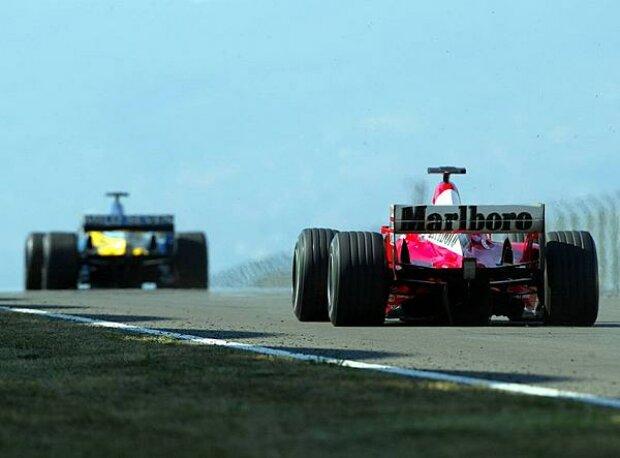 Alonso vor Schumacher