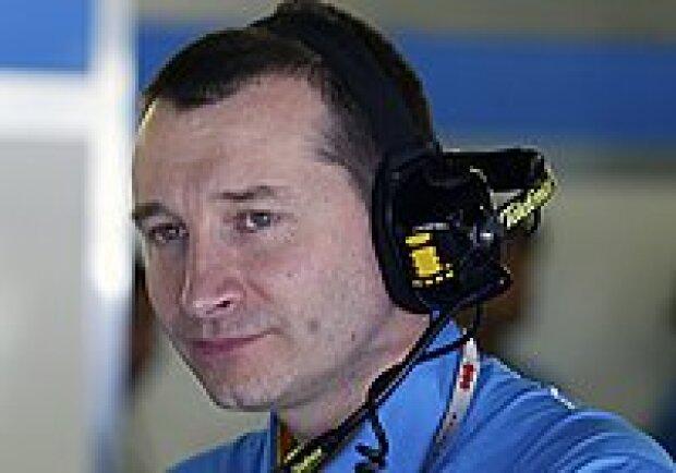 Renaults Technischer Direktor der Motorenabteilung, Robert White