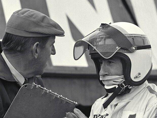 Ken Tyrrell und Jackie Stewart