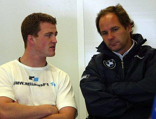 Ralf Schumacher und Gerhard Berger