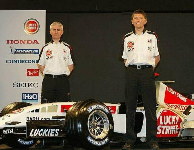 Geoff Willis und Nick Fry