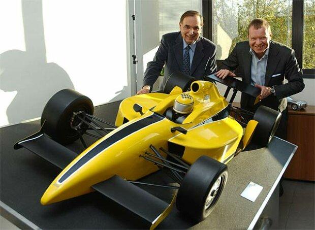 Giampaolo Dallara und Alexander Shnaider