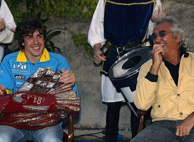 Fernando Alonso und Flavio Briatore