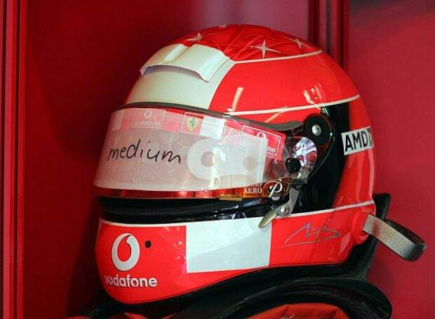 Michael Schumachers Helm