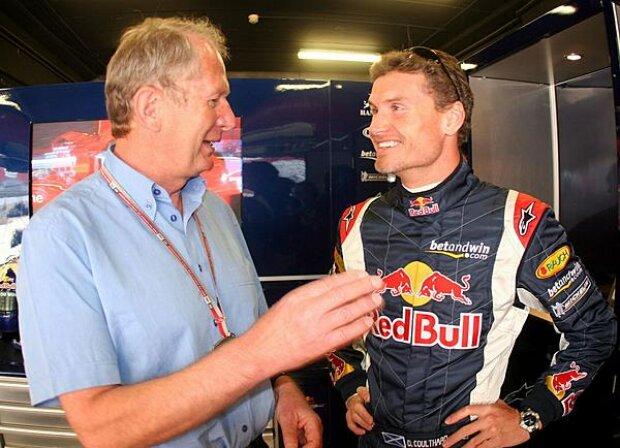 Dr. Helmut Marko mit David Coulthard